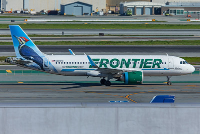 Frontier Airlines Airbus A320-251N N309FR 2-3-18