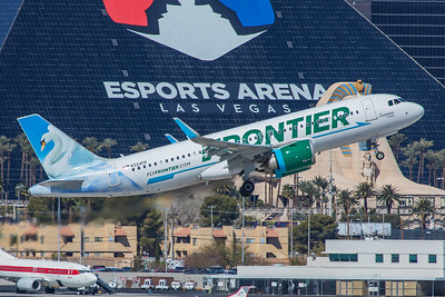 Frontier Airlines Airbus A320-251N N324FR 3-28-18