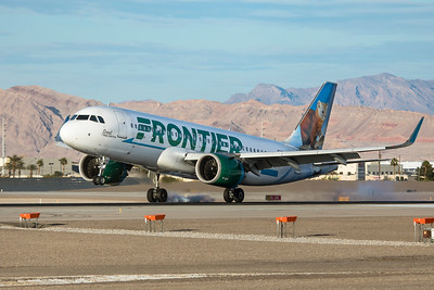 Frontier Airlines Airbus A320-251N N328FR 3-18-21