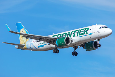 Frontier Airlines Airbus A320-251N N303FR 5-29-18