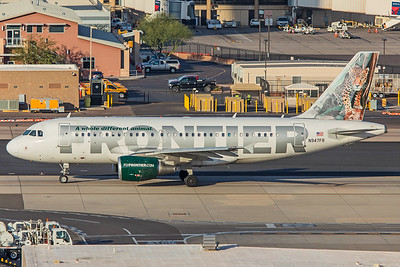 Frontier Airlines Airbus A319-111 N947FR 2-2-18