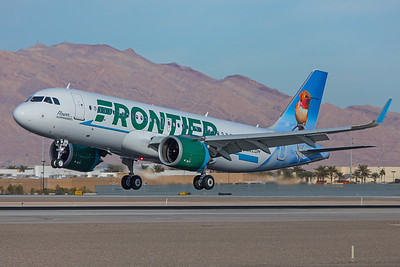 Frontier Airlines Airbus A320-251N N318FR 12-30-17