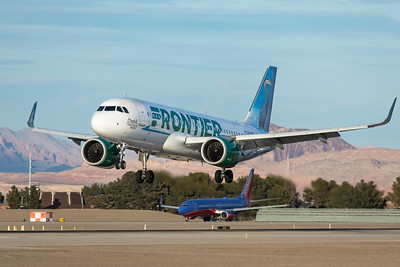 Frontier Airlines Airbus A320-251N N334FR 3-18-21