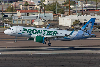 Frontier Airlines Airbus A320-251N N367FR 3-7-20