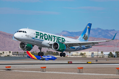 Frontier Airlines Airbus A320-251N N350FR 3-18-21