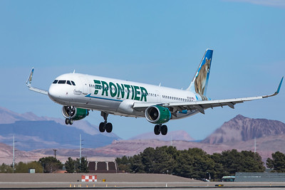 Frontier Airlines Airbus A321-211 N702FR 3-18-21