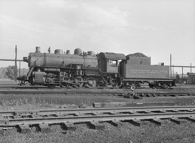 2016.010.FAC5.10372--cole 6x9-12pak neg--B&OCT--steam locomotive 0-8-0 1701--Riverdale IL--1956 0916