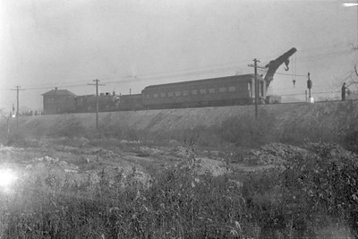 2016.010.FAC6.01607--cole 500 neg--CMStP&P--scene of wreck of the southbound Varsity--Mayfair IL--1929 1005