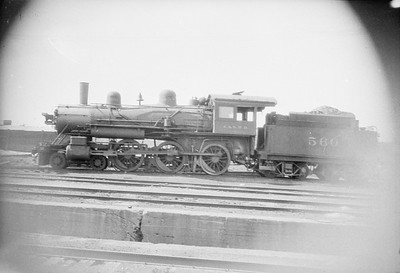 2016.010.FAC1.02430--cole 500 neg--C&NW--steam locomotive 4-6-0 R 560--Proviso IL--1924 0900