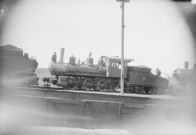 2016.010.FAC1.02431--cole 500 neg--C&NW--steam locomotive 0-6-0 K-4 8--Proviso IL--1924 0900