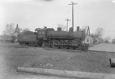 2016.010.FAC1.01630--cole 500 neg--C&NW--steam locomotive 4-6-0 R 327--Proviso IL--1929 1027