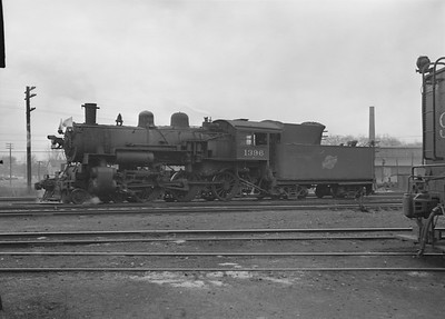 2016.010.FAC2.07210--cole 6x9-8pak neg--C&NW--steam locomotive 4-6-0 R-1 1396--Harvard IL--1949 1217