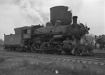 2016.010.FAC2.07207--cole 6x9-8pak neg--C&NW--steam locomotive 4-6-0 R-1 1396--Harvard IL--1949 1217