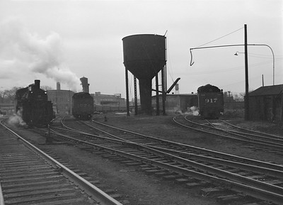 2016.010.FAC2.07216--cole 6x9-8pak neg--C&NW--steam locomotive scene--Harvard IL--1949 1217