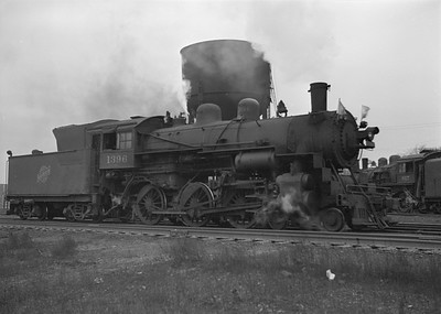2016.010.FAC2.07208--cole 6x9-8pak neg--C&NW--steam locomotive 4-6-0 R-1 1396--Harvard IL--1949 1217