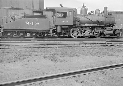 2016.010.FAC1.05567--cole 6x9-8pak neg--C&NW--steam locomotive 0-6-0 M 849--Winona MN--1930 0821