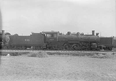 2016.010.FAC1.06172--cole 6x9-8pak neg--C&NW--steam locomotive 4-6-2 L 111 (dead)--Chadron NE--1931 0805