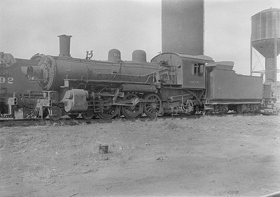 2016.010.FAC1.06188--cole 6x9-8pak neg--C&NW--steam locomotive 4-6-2 L 940 (dead)--Chadron NE--1931 0805