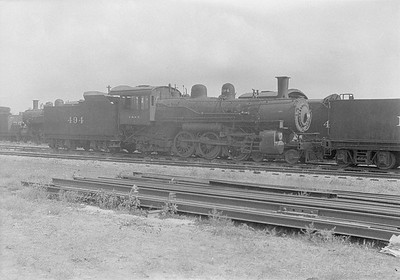 2016.010.FAC1.06170--cole 6x9-8pak neg--C&NW--steam locomotive 4-6-2 L 494 (dead)--Chadron NE--1931 0805