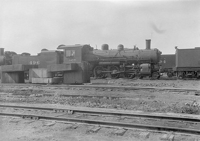 2016.010.FAC1.06177--cole 6x9-8pak neg--C&NW--steam locomotive 4-6-2 L 496 (dead)--Chadron NE--1931 0805