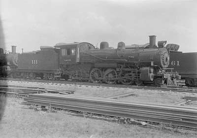 2016.010.FAC1.06173--cole 6x9-8pak neg--C&NW--steam locomotive 4-6-2 L 111 (dead)--Chadron NE--1931 0805