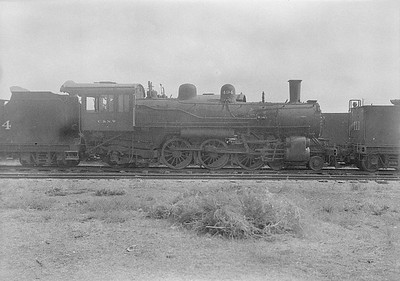 2016.010.FAC1.06171--cole 6x9-8pak neg--C&NW--steam locomotive 4-6-2 L 494 (dead)--Chadron NE--1931 0805