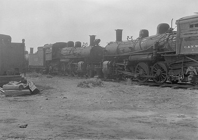 2016.010.FAC1.06191--cole 6x9-8pak neg--C&NW--steam locomotive 4-6-2 L 492 (dead)--Chadron NE--1931 0805