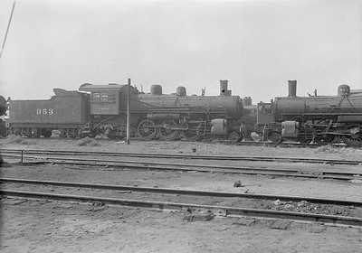 2016.010.FAC1.06181--cole 6x9-8pak neg--C&NW--steam locomotive 4-6-2 L 953 (dead)--Chadron NE--1931 0805