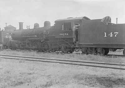 2016.010.FAC1.06167--cole 6x9-8pak neg--C&NW--steam locomotive 4-6-2 L 147 (dead)--Chadron NE--1931 0805