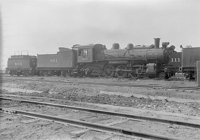 2016.010.FAC1.06176--cole 6x9-8pak neg--C&NW--steam locomotive 4-6-2 L 961 (dead)--Chadron NE--1931 0805