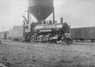 2016.010.FAC1.06136--cole 6x9-8pak neg--C&NW--steam locomotive 4-6-0 R-1 443--Rapid City SD--1931 0804