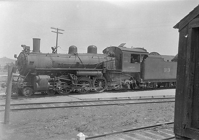 2016.010.FAC1.06147--cole 6x9-8pak neg--C&NW--steam locomotive 4-6-2 L 33--Whitewood SD--1931 0803
