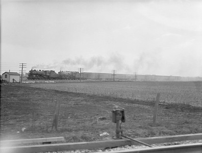2016.010.FAC5.02008--cole 3x4 neg--NYC--double-headed steam passenger train action--Porter IN--1921 0320