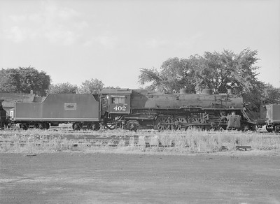 2016.010.FAC5.09846--cole 6x9-12pak neg--GB&W--steam locomotive 2-8-2 402 (retired)--Green Bay WI--1955 0625