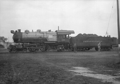 2016.010.FAC5.06469--cole 6x9-12pak neg--PRR--steam locomotive 4-4-2 1646--Ft Wayne IN--1936 1004