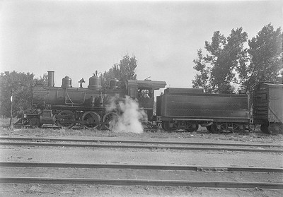 2016.010.FAC5.06141--cole 6x9-12pak neg--RCBH&W--steam locomotive 2-6-0 55--Rapid City SD--1931 0804
