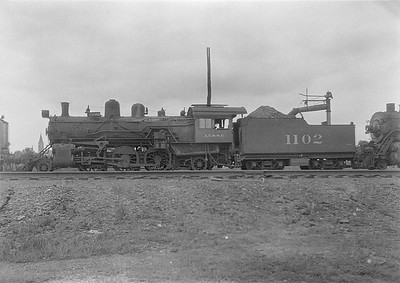 2016.010.FAC5.06045--cole 6x9-12pak neg--AT&SF--steam locomotive 2-6-2 1102--Fort Madison IA--1931 0705