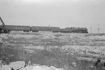 2016.010.FAC5.02548--cole 500-12pak neg--AT&SF--steam locomotive 4-6-2 3427 on passenger train crossing Sanitary Ship Canal--Chicago IL--1925 0503