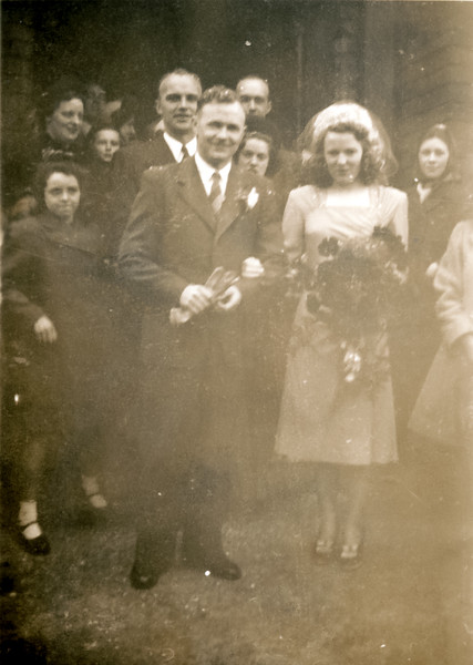Mum and Dad Wedding Photo