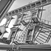 Fire Escape -- Jackson Square, San Francisco (January 2012)