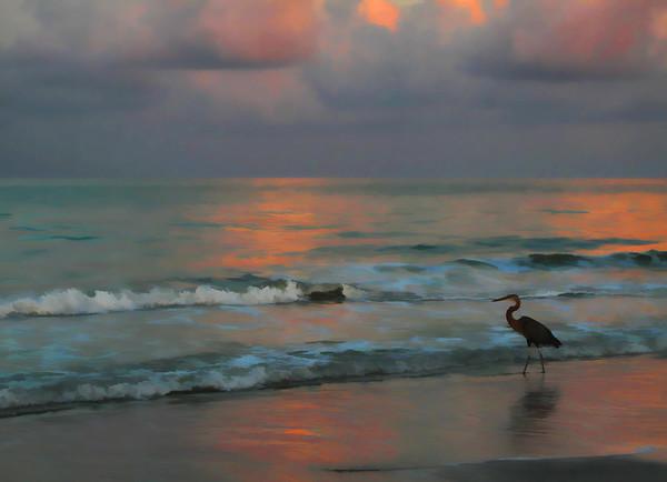 Sunrise west coast of Florida.