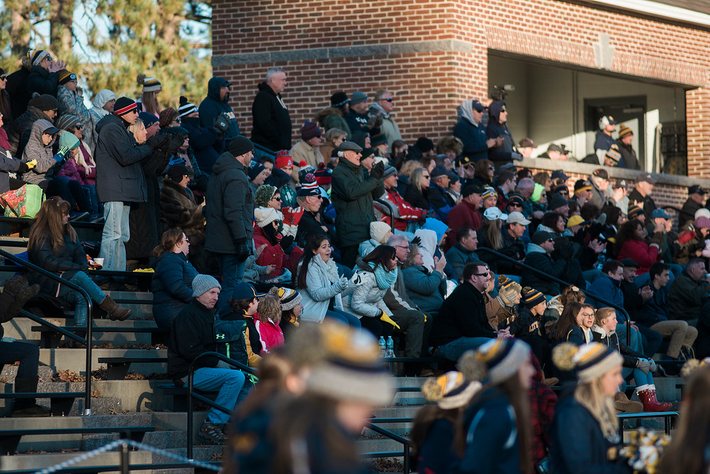. FACES IN THE CROWD Littleton v. St. Peter-Marian Saturday, November 11, 2017 SENTINEL & ENTERPRISE / Ashley Green