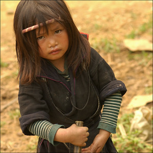Vietnam - hilltribe-girl1
