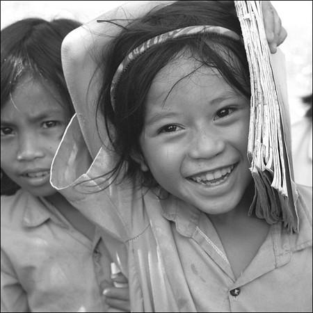 bali - school girls