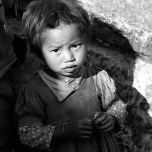 nepal - little girl1