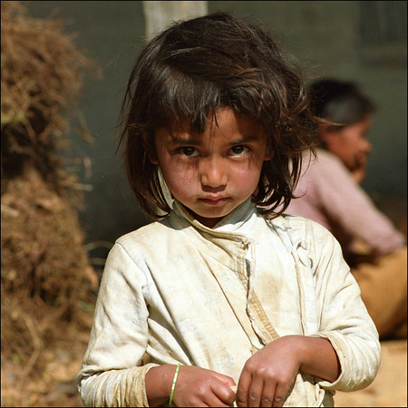 nepal little girl