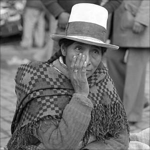 peru market women