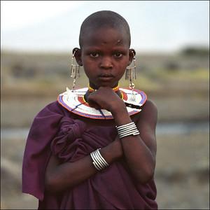 Africa - masai girl