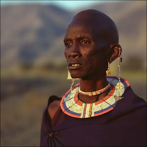 Africa - masai women close