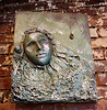 """2013 FACES UnMasked mask by Mary Clor titled """"Glass Pendant"""""""